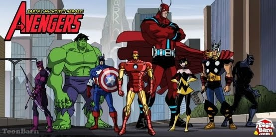 Avengers Earth s Mightiest Heroes avengers earths mightiest heroes 16773708 554 275 Cartooning Around: The Avengers: Earths Mightiest Heroes   Marvel Universe/Disney XD