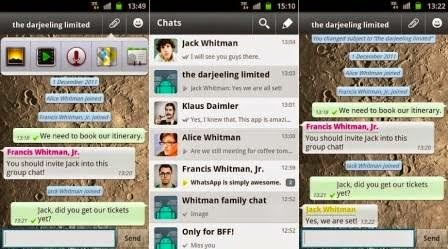WhatsApps Messenger V2.11.506 Apk