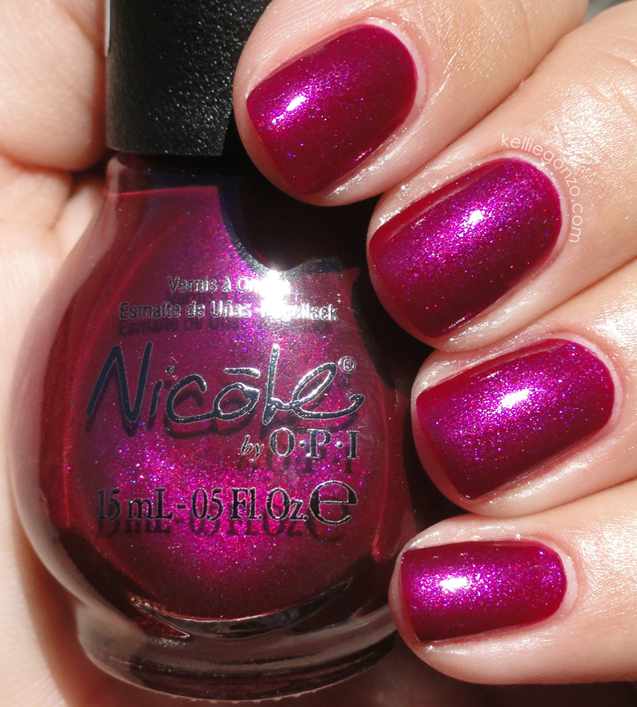KellieGonzo: New Nicole by OPI Shades for 2012
