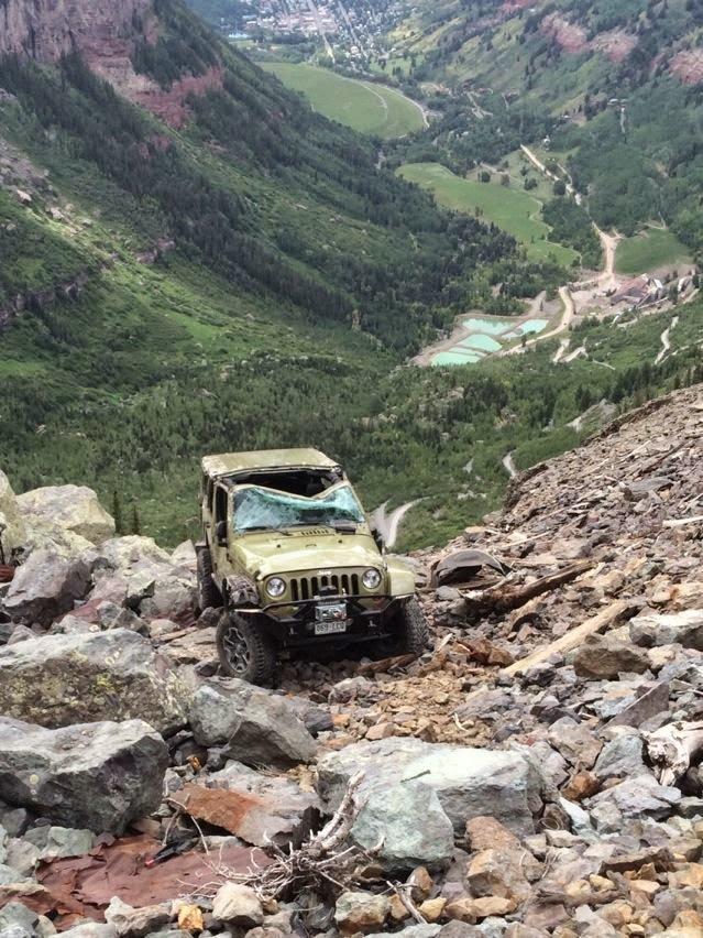 Black Bear Pass Colorado >> Rubicon4wheeler Jeep Rollover On Black Bear Pass