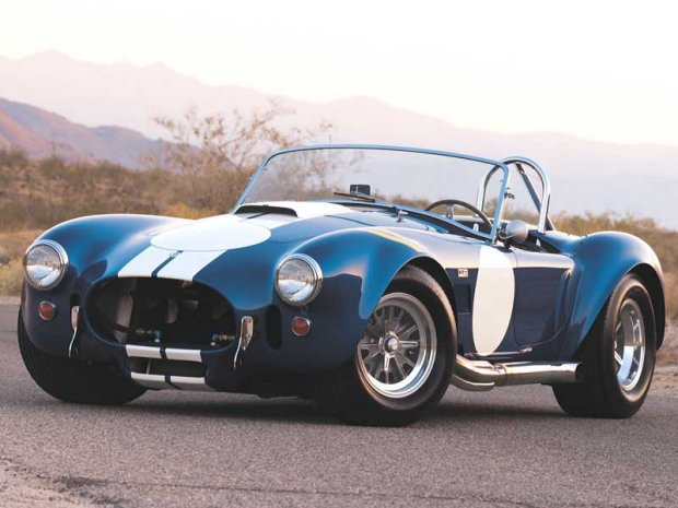 The Shelby Cobra - muscle car