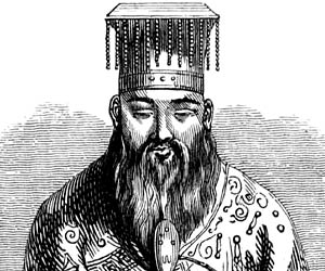 """a biography of confucius who is believed to have been born in 551 bc Philosopher born: 551 bc, died: 479 bc confucianism is based upon his  teachings  bio by: mongoose  how famous was kung """"confucius"""" fu-tzu  yes."""