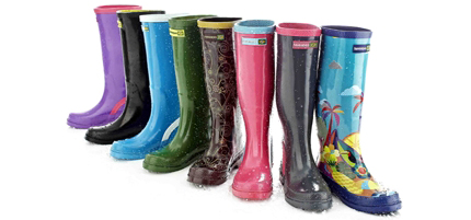 botas para la lluvia 2011 2012