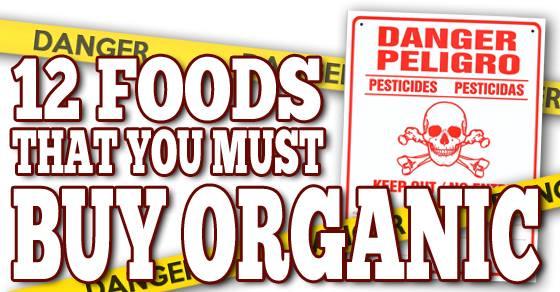 High Pesticide Foods Uk