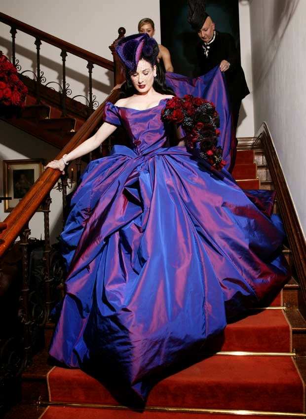 Gothic Purple Wedding Dresses Photos HD Concepts Ideas