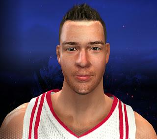 NBA 2K14 Donatas Motiejunas Cyberface Mod