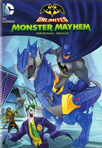 Batman Sem Limites: Caos Monstruoso   Dublado