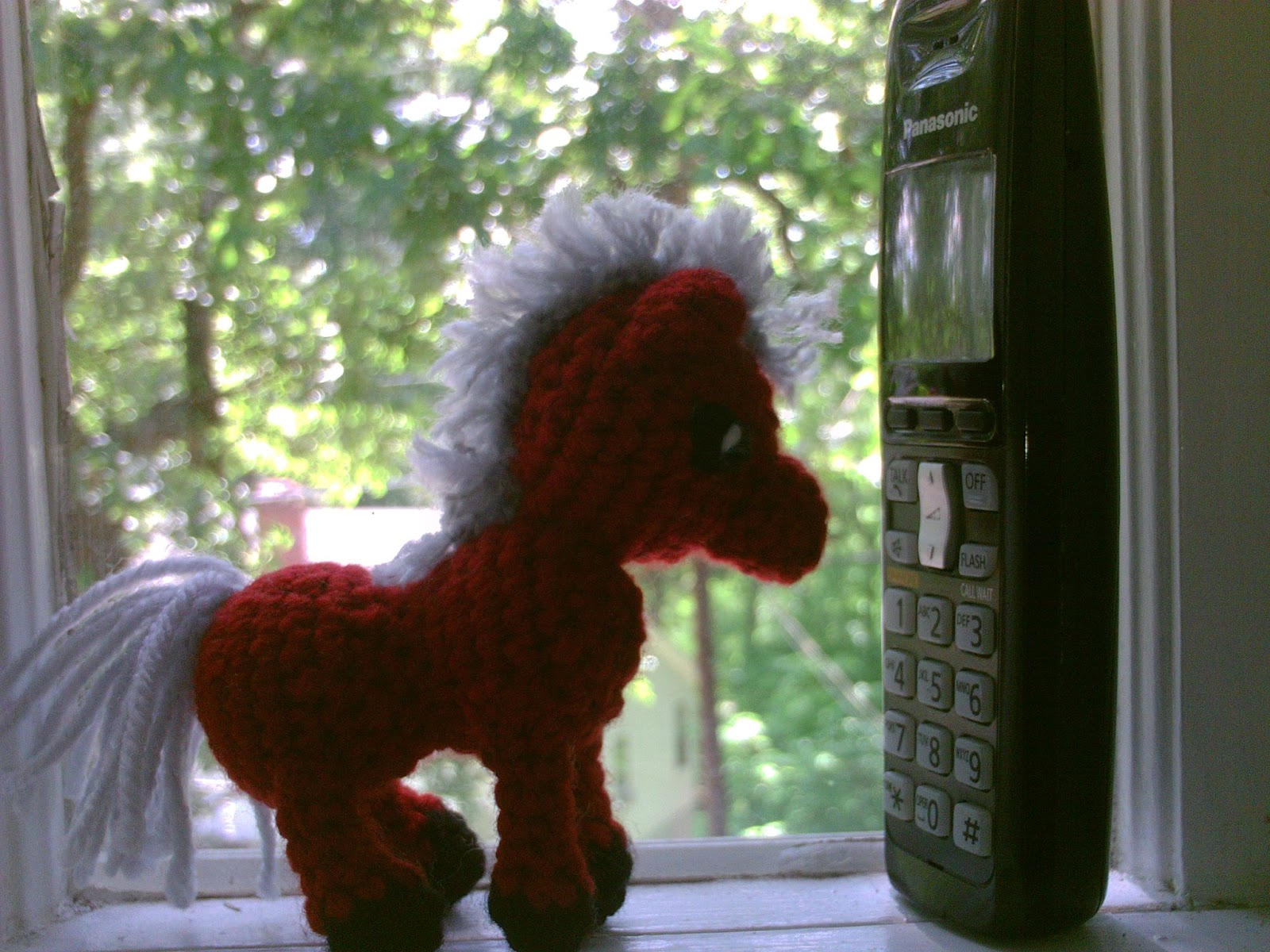 Amigurumi - Knitted and Crocheted: Mini Horse