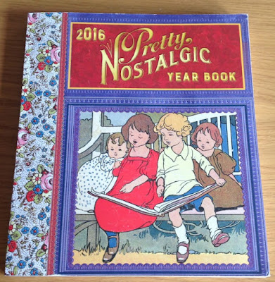 picture of the front cover of the Pretty Nostalgic Year Book