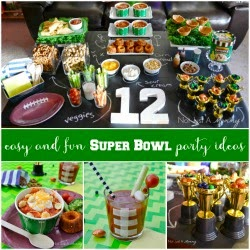 More Super Bowl party ideas