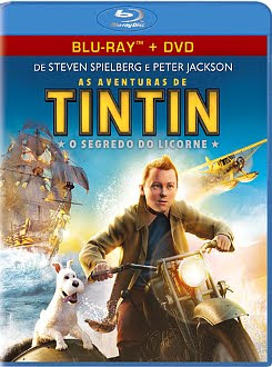 Filme Poster As Aventuras de Tintin: O Segredo do Licorne BDRip XviD Dual Audio &amp; RMVB Dublado