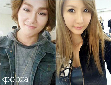 shinee onew and after school jung ah dating