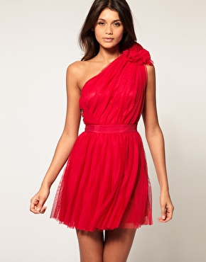 Shoulder  Dress on Diary Of A High Street Girl  Red Hot Dresses