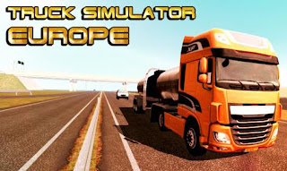 Screenshots of the Truck Simulator Europe for Android tablet, phone.