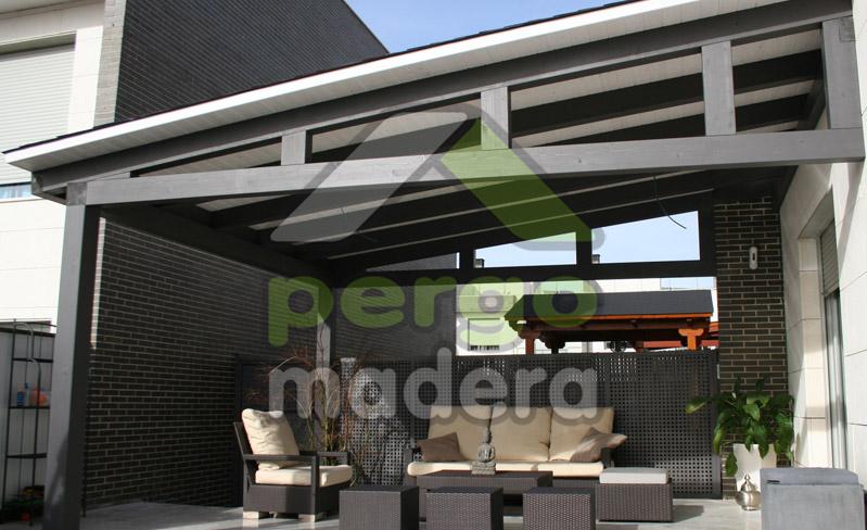 Pergomadera estructuras de madera porches de madera de - Madera para porches ...