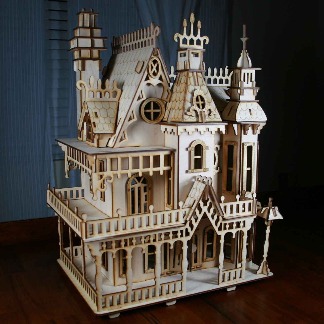 Victorian Dollhouse Plans furthermore Christmas Tree Topper as well ...