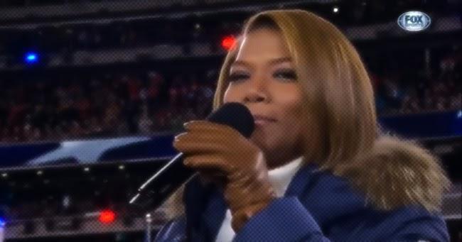 Queen Latifah Sings America The Beautiful
