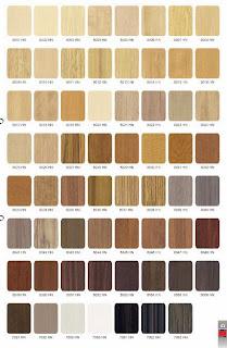 Testur HPL motif serat kayu