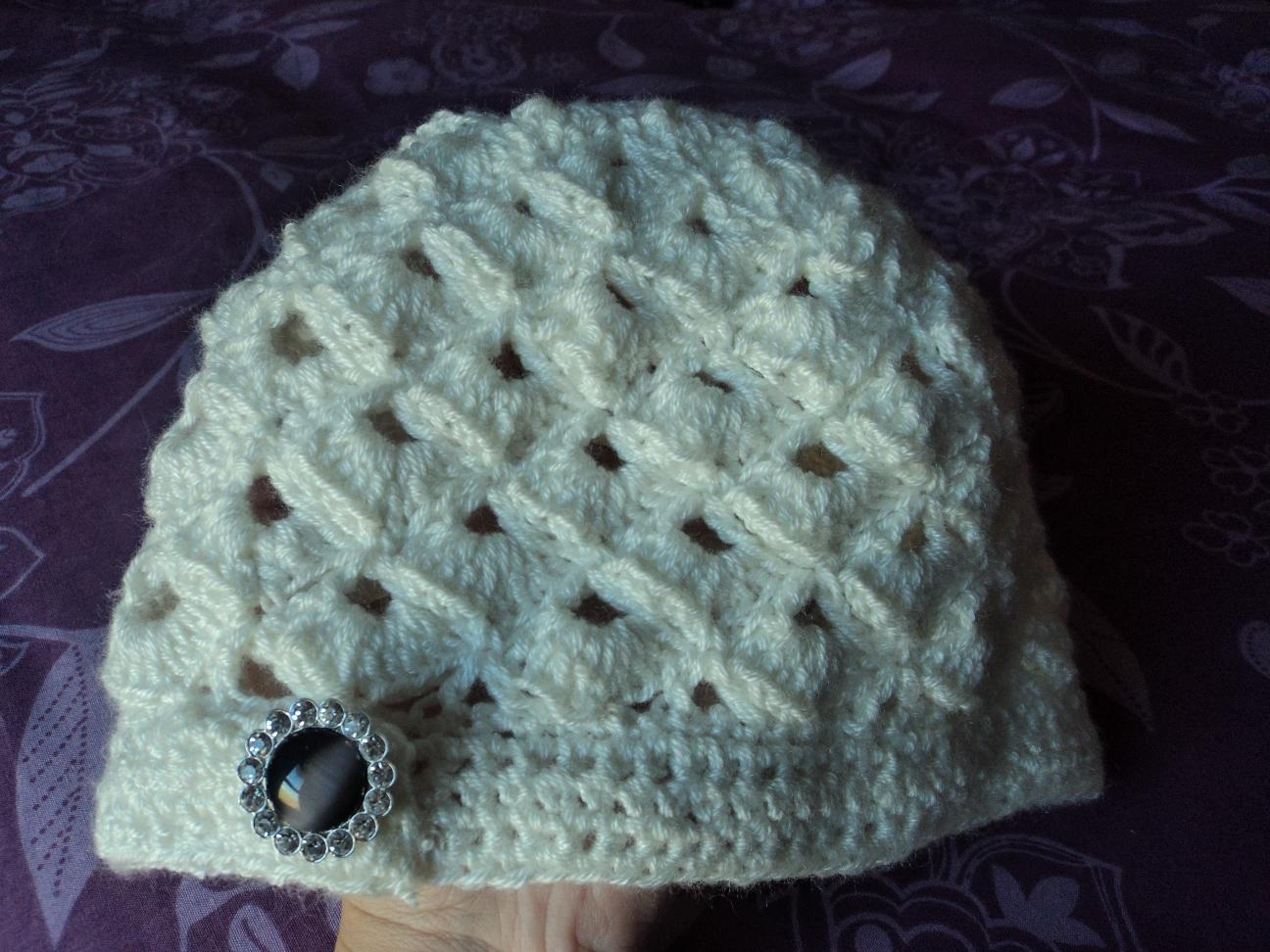 Crochet para regalar: Gorro modelo CLOCHE