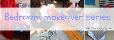 Bedroom makeover series