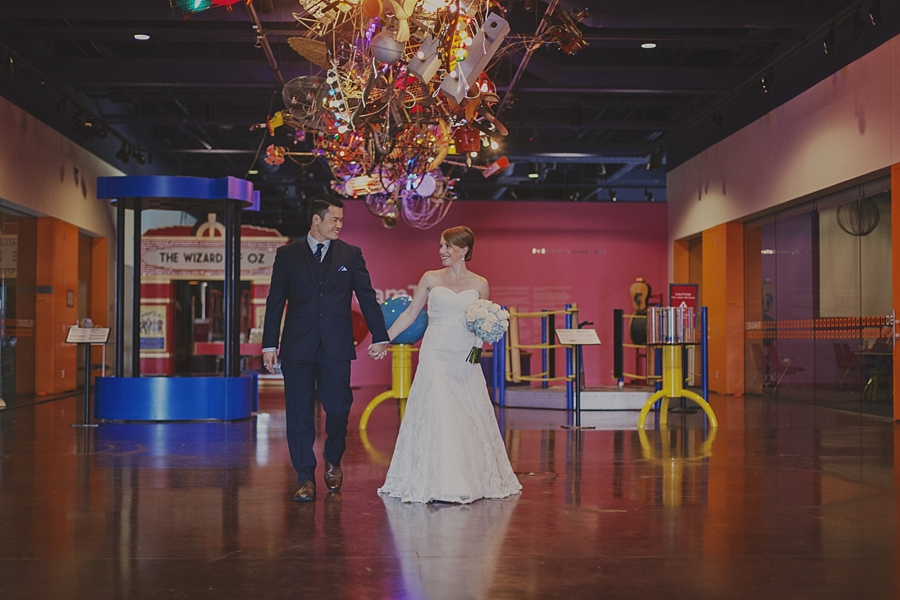 Fort Worth Museum of Science & History Wedding
