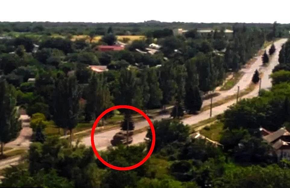 Pelancar Peluru Berpandu tembak MH17 cuba dilarikan?