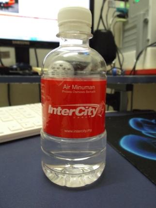 bas intercity coach air mineral water