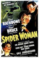 Sherlock Holmes y la mujer araña