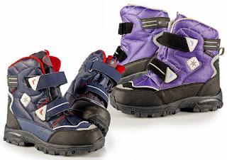 Buty zimowe dziecięce z Biedronki