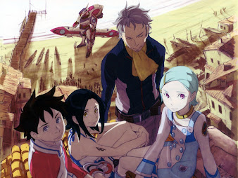 #4 Eureka Seven Wallpaper