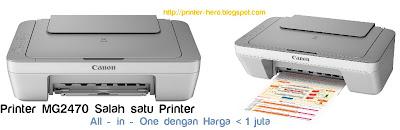 Spesifikasi Printer Canon Pixma MG2570 dan harga terbaru