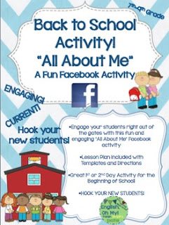 Facebook Back to School Activity