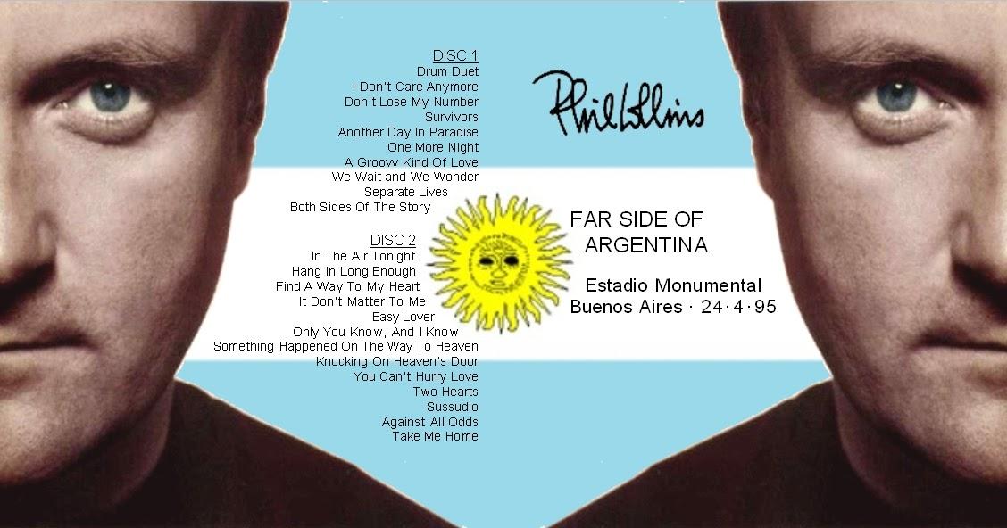 T.U.B.E.: Phil Collins - 1995-04-24 - Buenos Aires, ARG ...