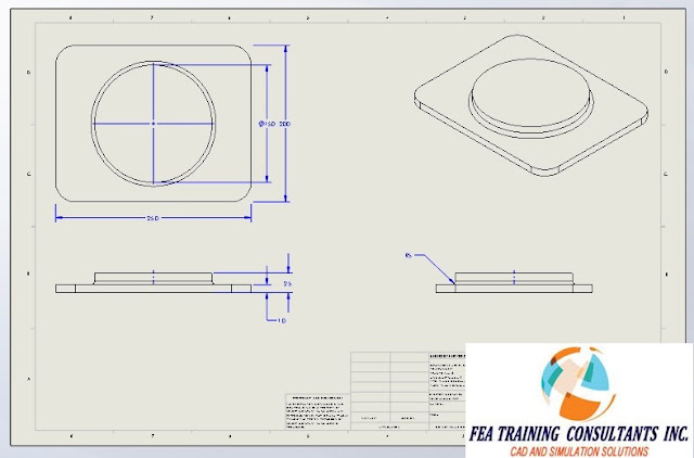 convert drawing view in solidworks