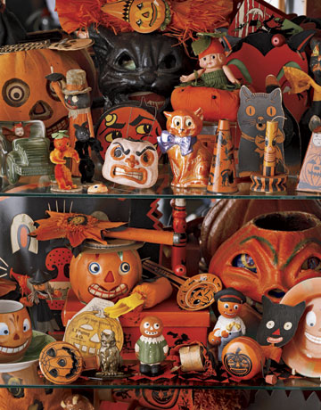 Vintage halloween on pinterest vintage halloween for Antique halloween decoration
