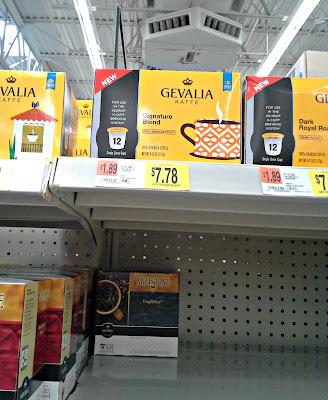Walmart, coffee, K-cups