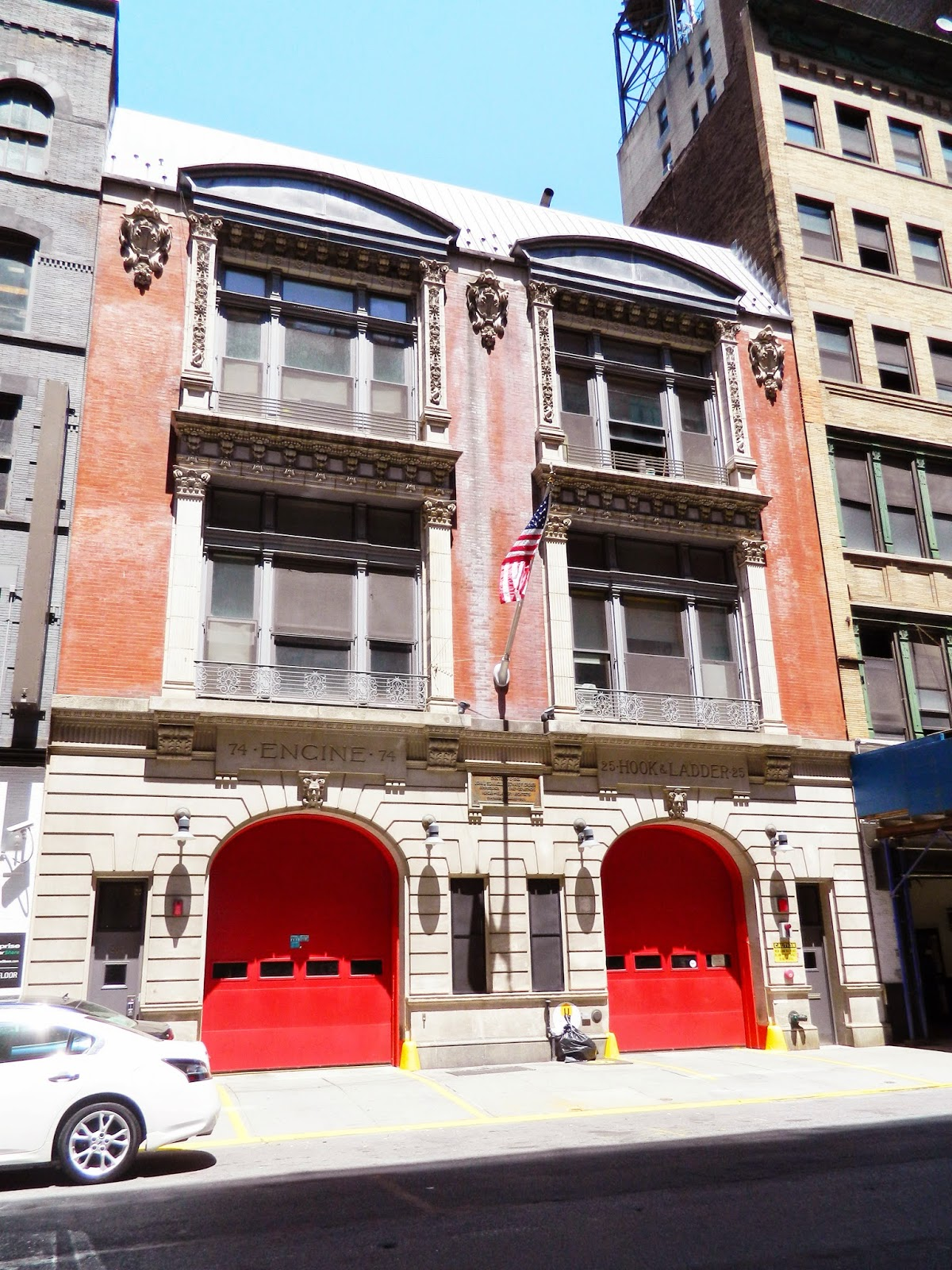 new york city fire station building architecture