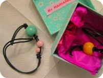 Armbånd med keramisk perle - DIY