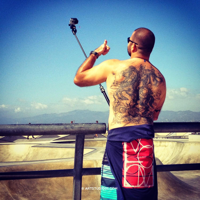 Selfie in Venice - Skate Park