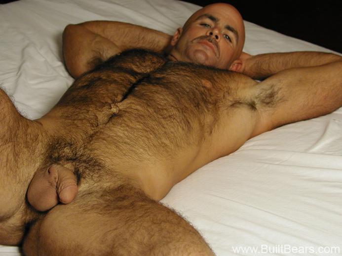 large hairy men