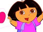 Desenhos para Colorir da Dora