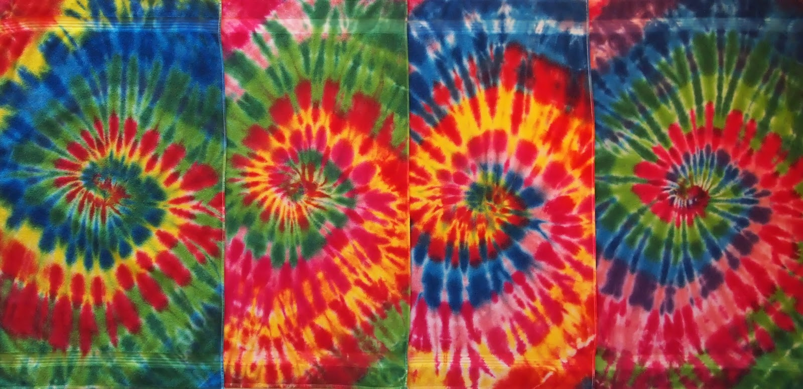 Quiltwrapup tie dyed towels reprise - Tie and dye colore ...