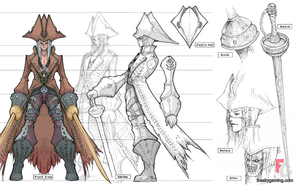 Game Character Concept Design : Understand theory and application of digital graphics used
