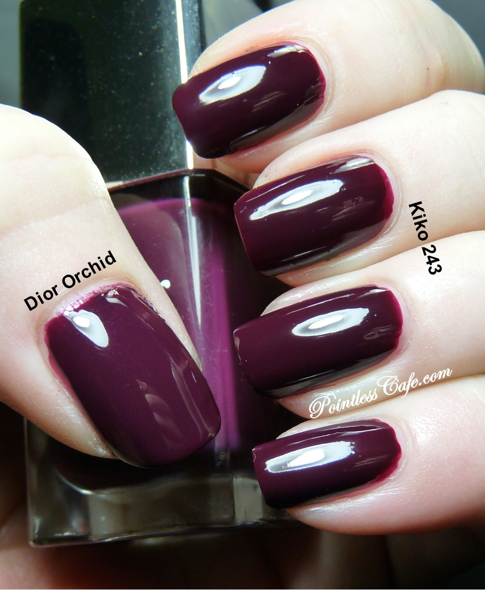 Dior Orchid Dupe Pointless Cafe