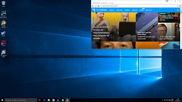 O que há de novo no Windows 10?