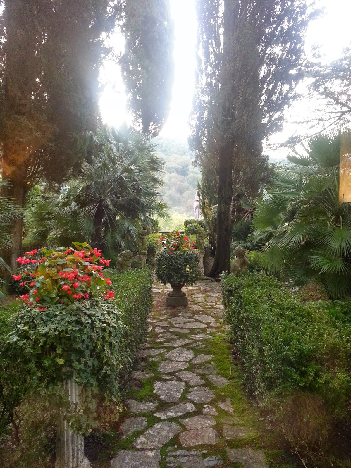 il servito buono: #sgttour monte pisano: terme,ville storiche, cultura - Piccolo Giardino Allitaliana