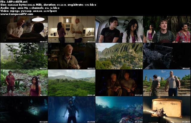 Viaje al Centro de la Tierra 2 La Isla Misteriosa DVDRip Español Latino Descargar 2012