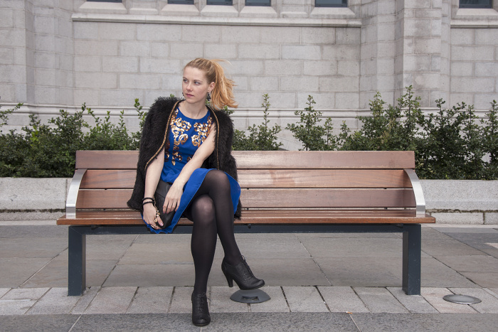 scotland, aberdee, fashion blogger, lucie srbová, rgu