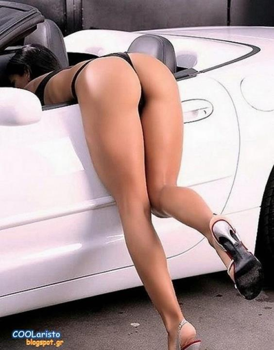 Car Babe Bent Over 102