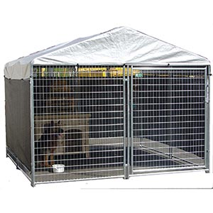 Just this side of crazy february 2012 for Costco dog fence
